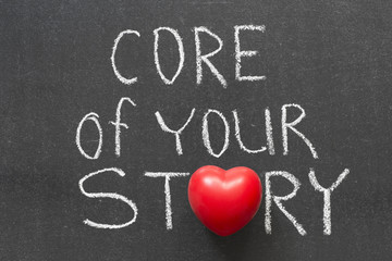 Wall Mural - core of your story