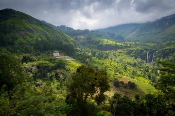 Fantastic landscape of Sri Lanka