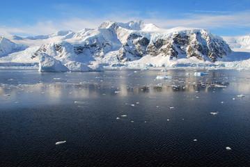Wall Mural - open ocean in antarctica