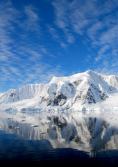 Fototapete - antarctic landscape