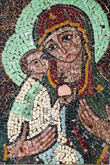 Jesus Christ cristmas mosaic