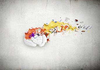 Wall Mural - Creative thinking