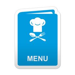 Pegatina simbolo menu
