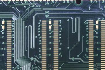 Electronic circuit plate