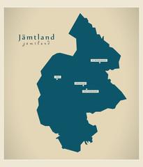Modern Map - Jämtland SE