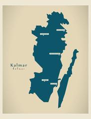 Modern Map - Kalmar SE