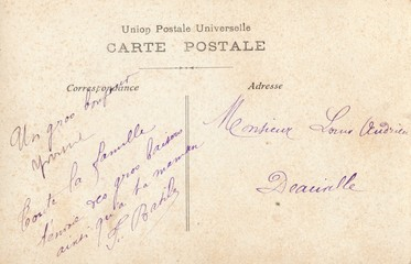 French Antique Postcard 96