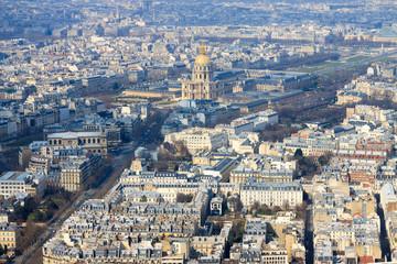 Les Invalides top view