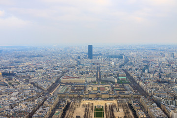 Panorama of Champ de Mars and EuroDefense France