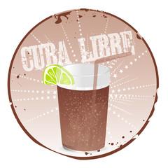 Stamp Cuba Libre