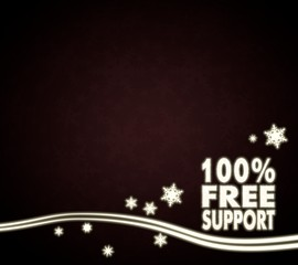 a 100 percent free support design red christmas background
