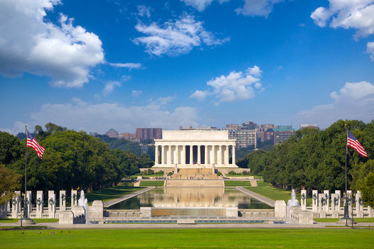 Abraham Lincoln Memorial, Washington DC, USA