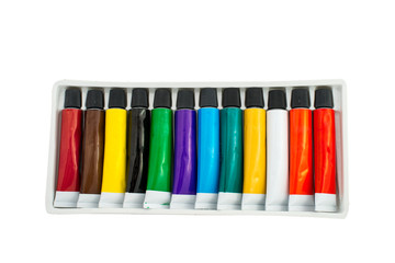 Fototapete - tube of paint