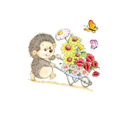 Cute hendehog