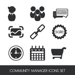 manager icons design