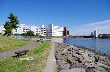 東京湾の海岸