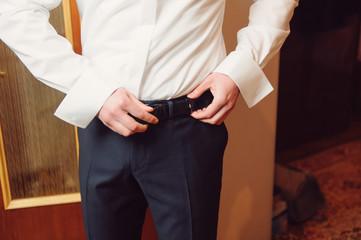 Fototapeta Clasping Belt