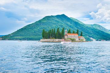 The tiny islet