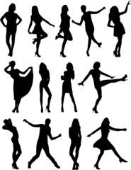 Wall Mural - POSE FEMININES