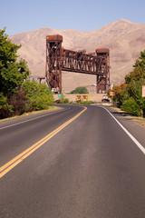 US 12 Lewiston Drawbridge Snake River Historical Site