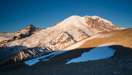 Mt Rainier Ring of Fire Cascade Range Mountain View