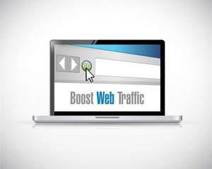 boost web traffic computer browser