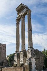 Foro Romano, tempio di Castore - Roma