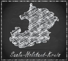 Karte von Saale-Holzland-Kreis