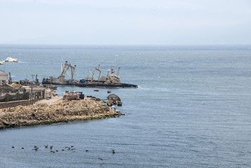 Ships Wrecked On The Coast Of Chile