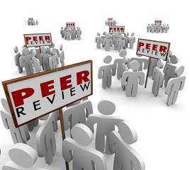 Peer Review Groups People Evaluate Confirm Feedback Work Finding