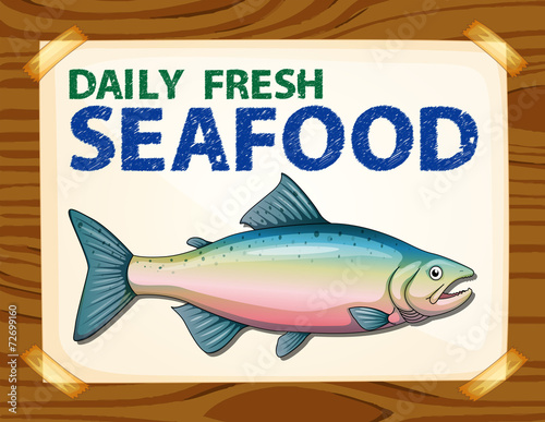 daily fresh seafood stock image and royalty free vector