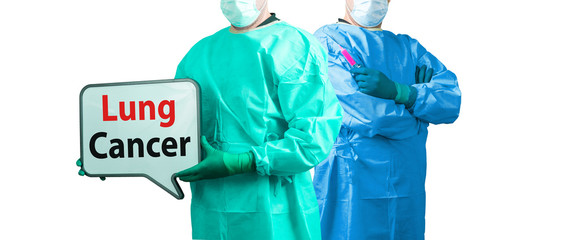 lung cancer doctor surgeon