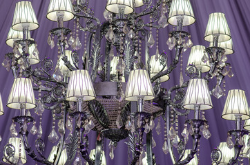 Event ballroom chandelier