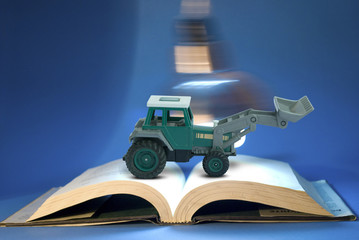 Earth mover concept with education