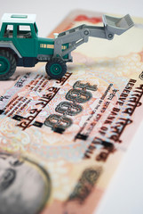 earth mover concept with money making