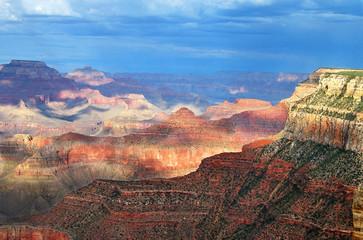 Acrylic Prints Coral Grand Canyon Après Midi
