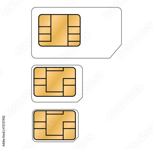 Nano Sim Karte Bilder.Micro Nano Sim Karte Vektor Freigestellt Stockfotos Und