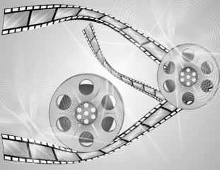 film on a disk and pieces
