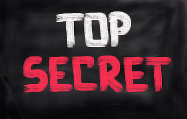 Wall Mural - Top Secret Concept
