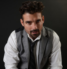 Handsome Italian man