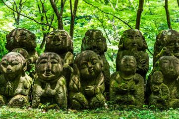 京都 千二百羅漢