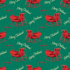 Christmas seamless pattern. Vector illustration