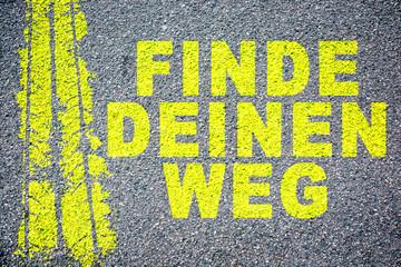 finde deinen Weg