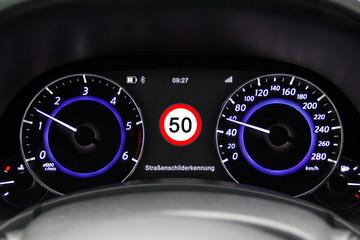 Tacho 50km/h