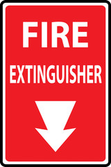 graphic about Printable Fire Extinguisher Sign called Glimpse images \