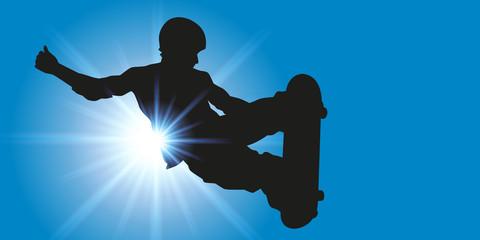 Skateur - skateboard