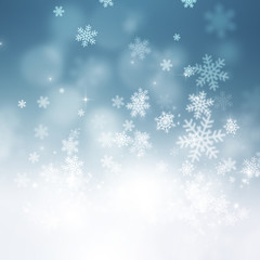 Christmas Snow Holiday Background