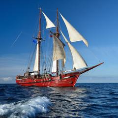 Sailing. Series of yachts and ships