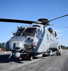 Heavy military helicopter