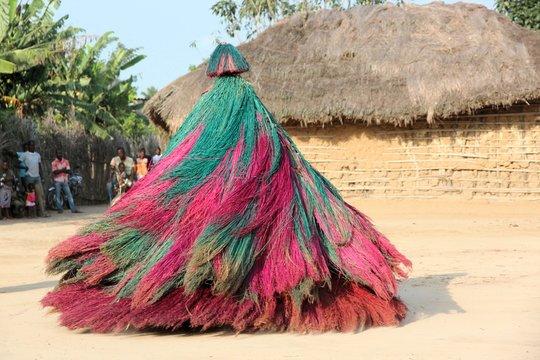 Zangbeto-Zeremonie in Benin